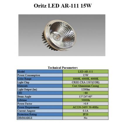 Oritz AR111-15W CREE